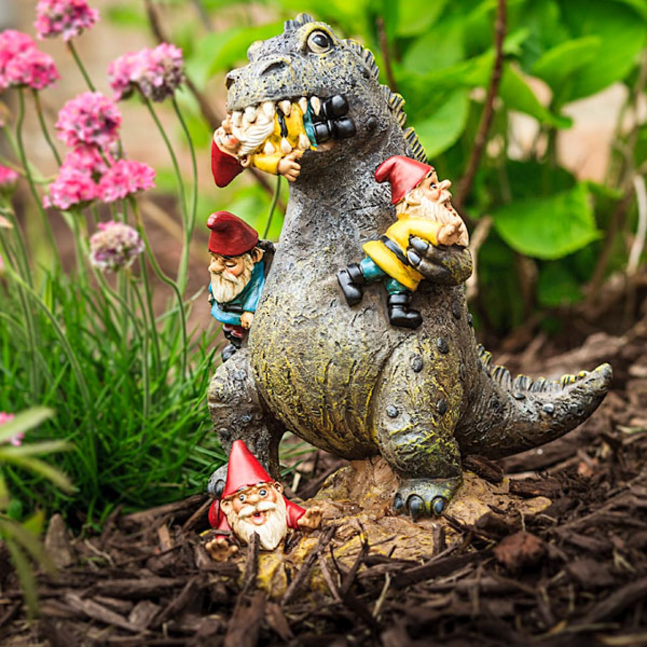 Dinosaur Lawn Decorations Live It Up Gift Guide Geek Lifestyle Gifts From Firefly Hellboy