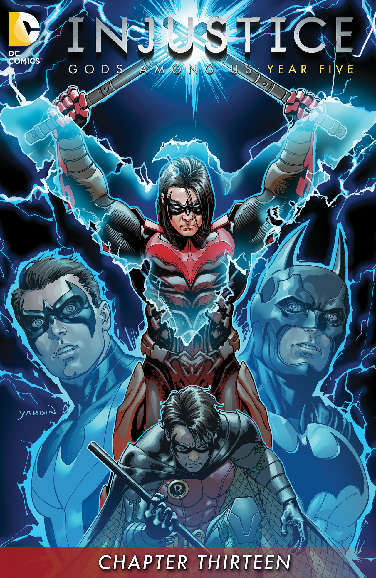 Exclusive preview: Injustice: Gods Among Us: Year Five ... Nightwing Injustice Comic
