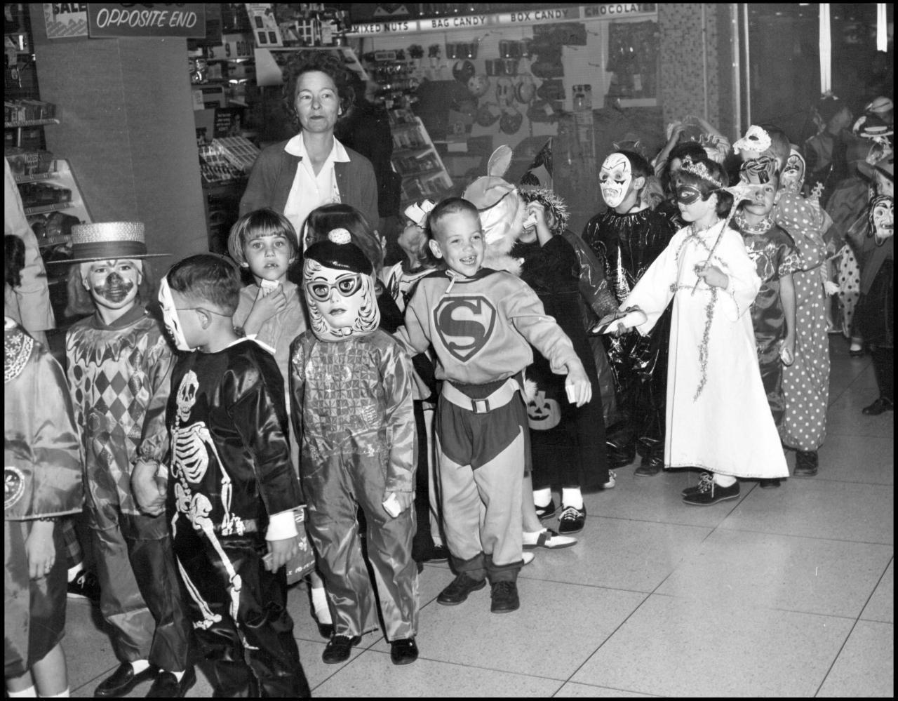 Old Timey Superman Halloween Costume