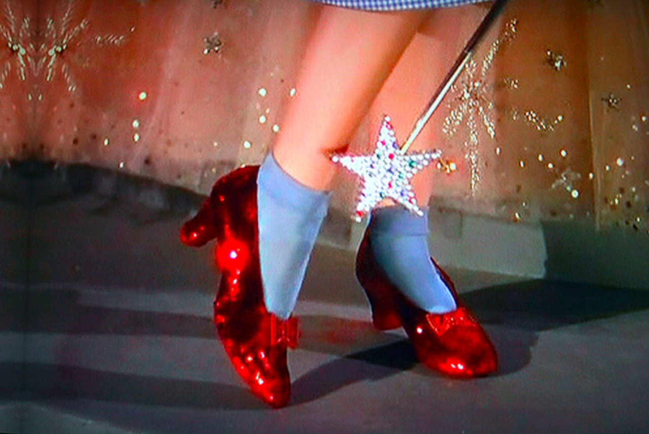 The Ruby Slippers - Wizard of Oz (1939)