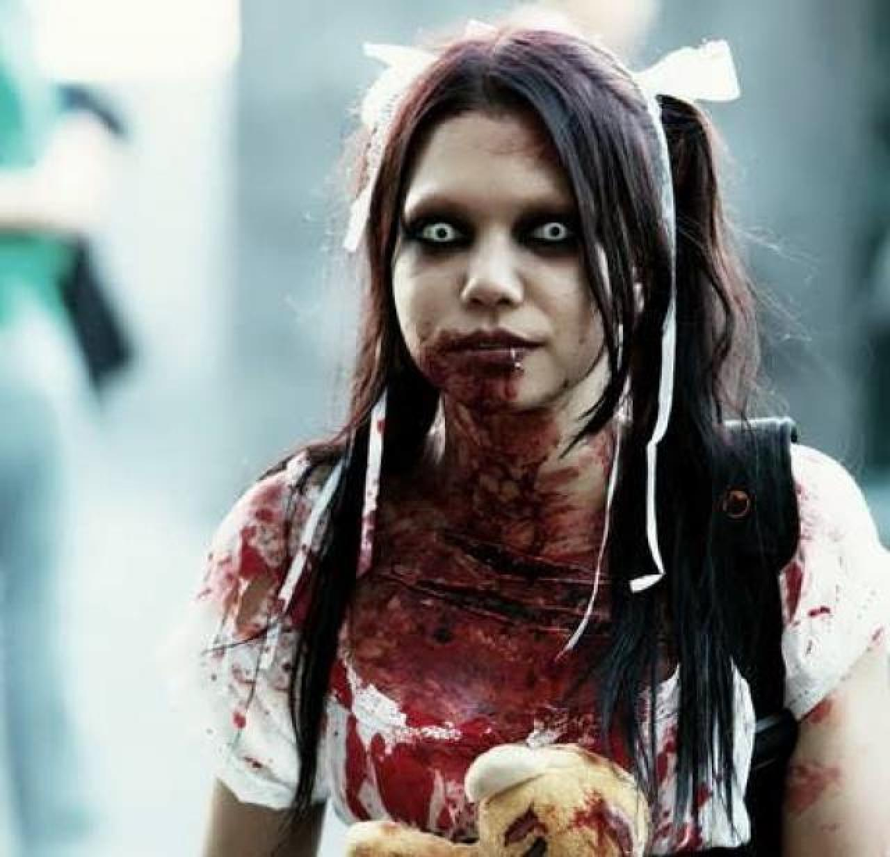 Zombie girl nackt sexy galleries