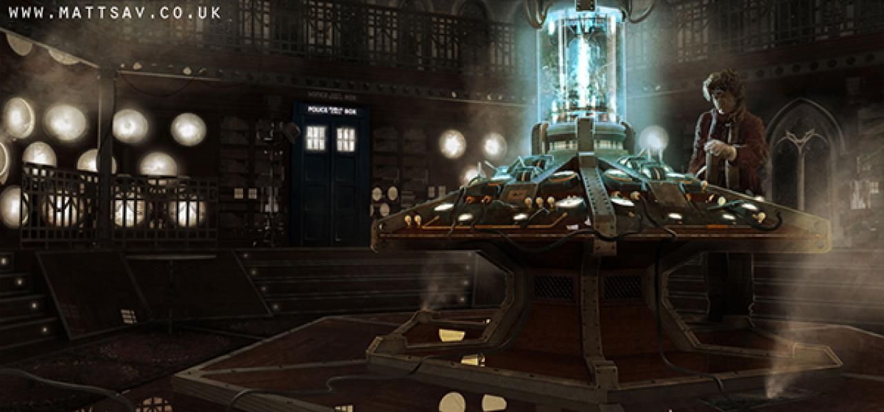 Time Lord Omega 11 More Doctor Who Concept Art Images