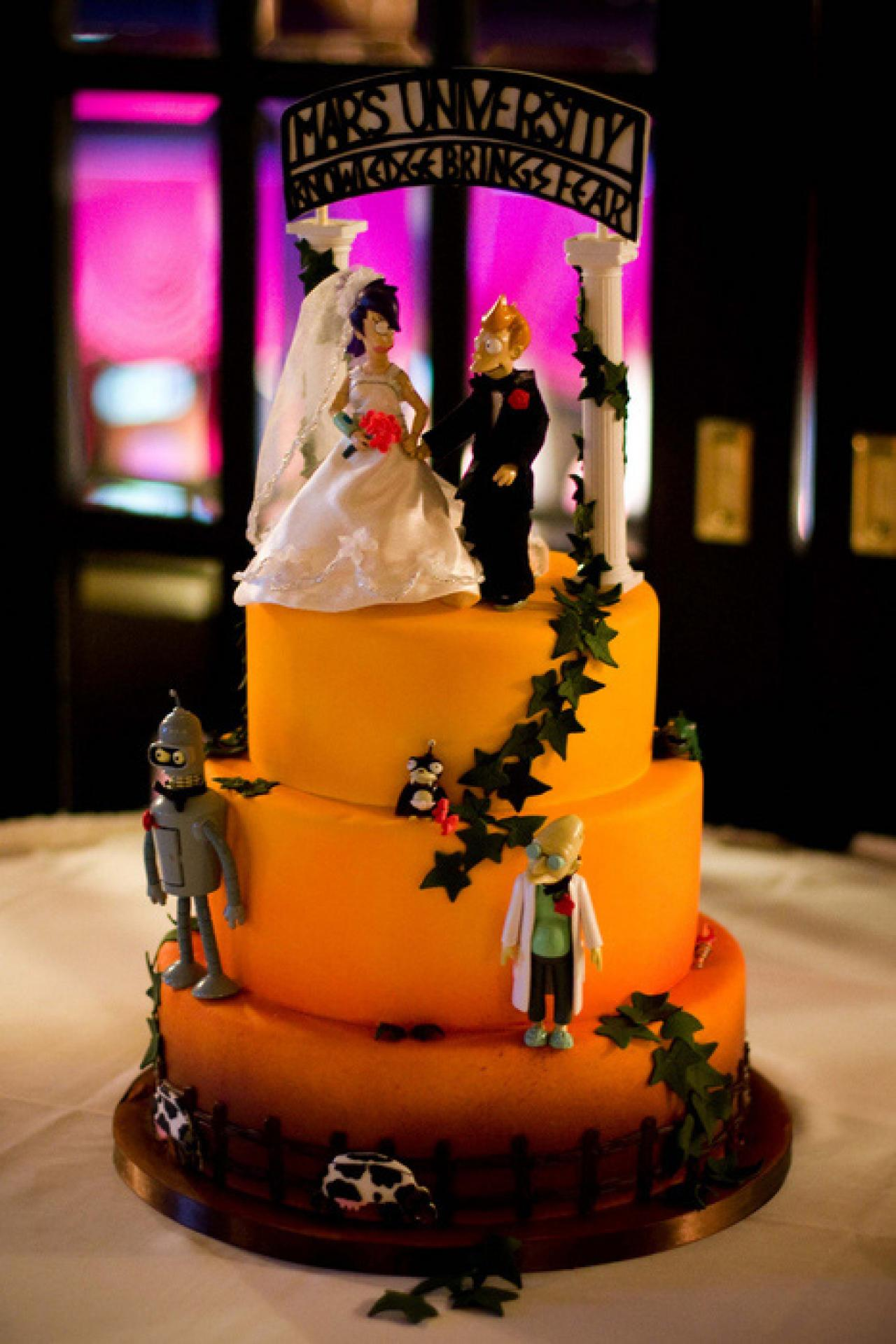 23 sci fi themed wedding cake toppers good enough for the