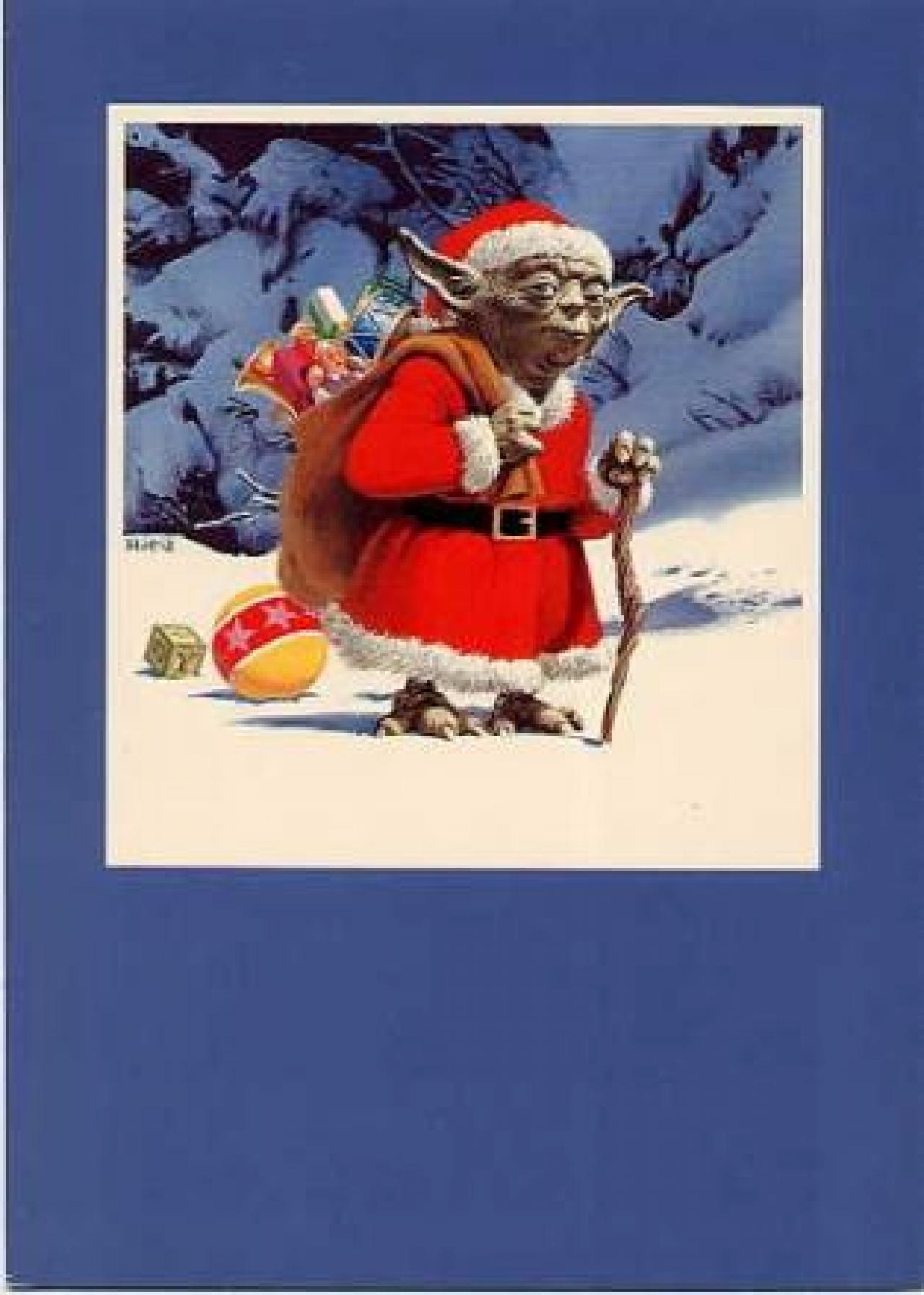 #BE140D 34 Amazing Star Wars Christmas Cards You Wish George Lucas  5515 decorations de noel star wars 1280x1794 px @ aertt.com