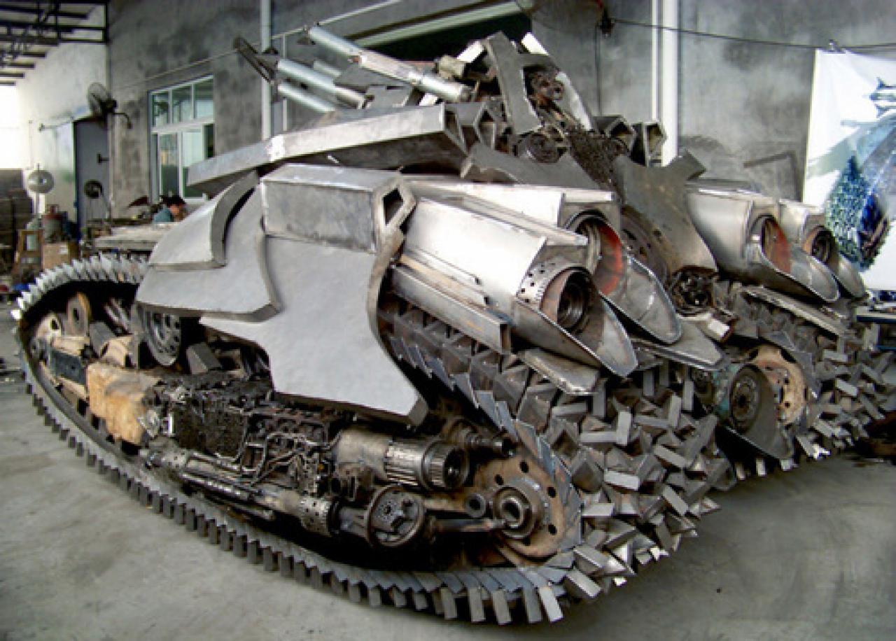 Как сделать танк своими руками настоящий