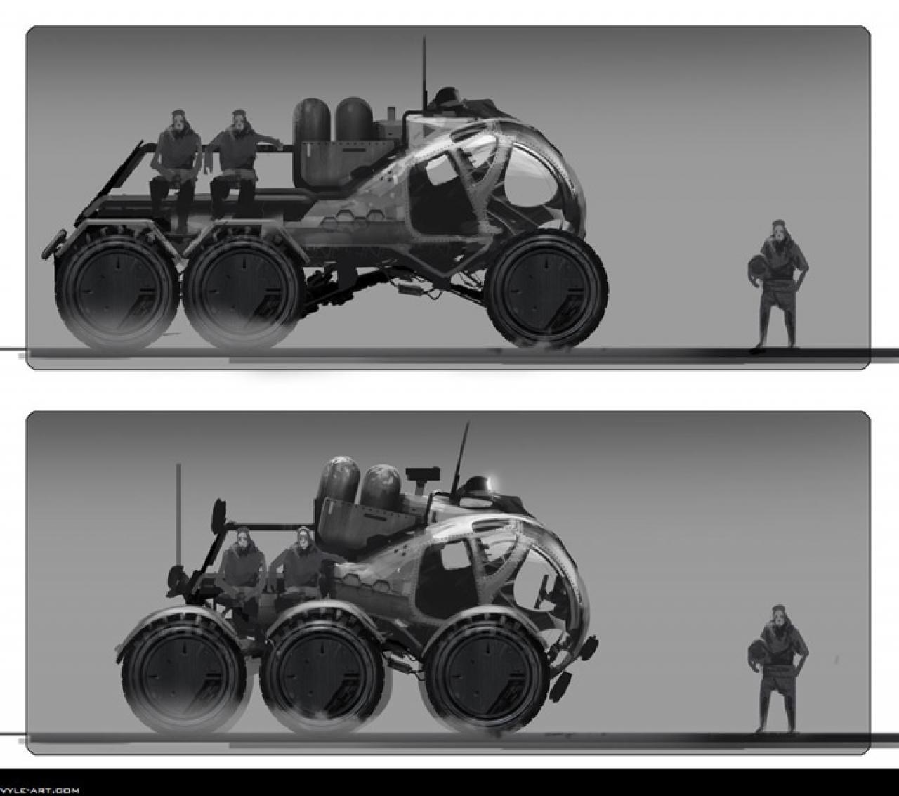 21 cool prometheus concept pics of temple engineer ship
