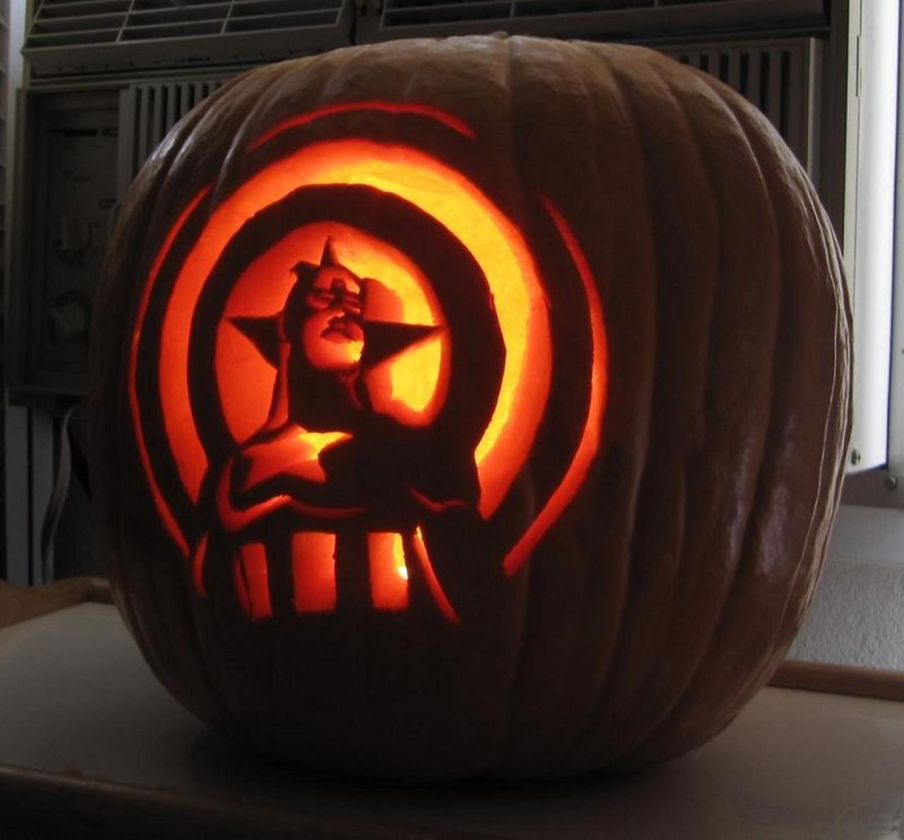 The gallery for gt superhero pumpkin carving patterns