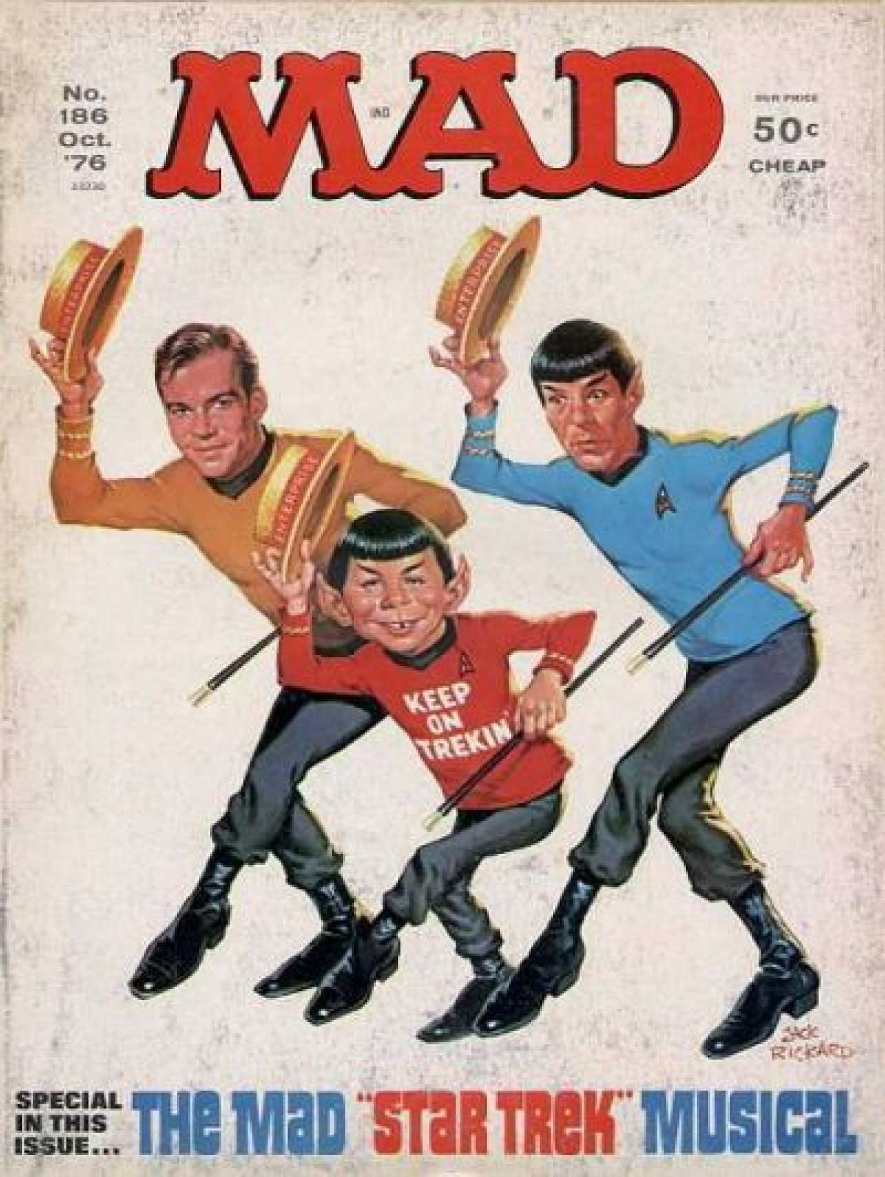 60 hilarious scifi spoof covers from 60 years of mad