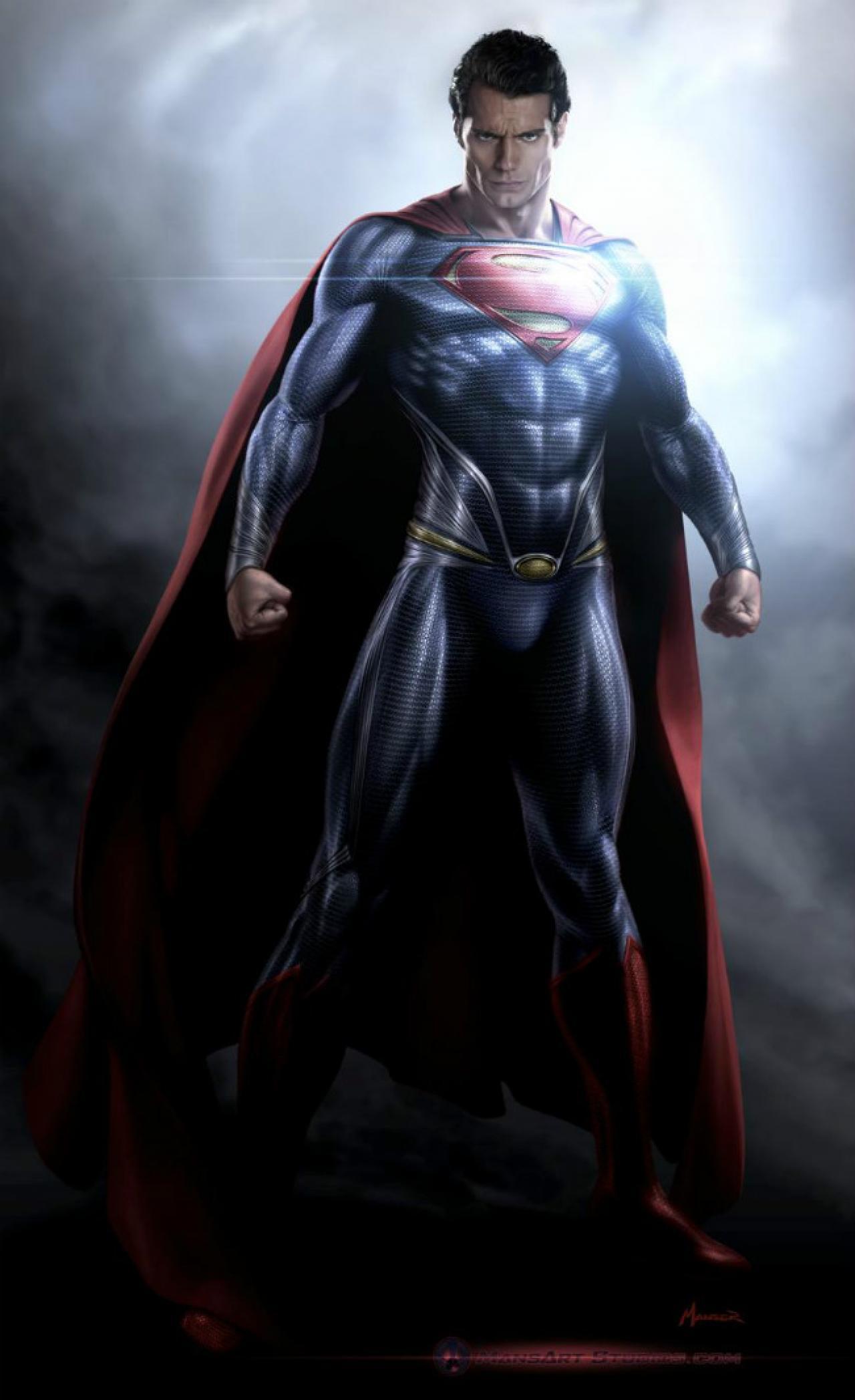 Daredevil Reboot Costume Man of Steel artist sh...