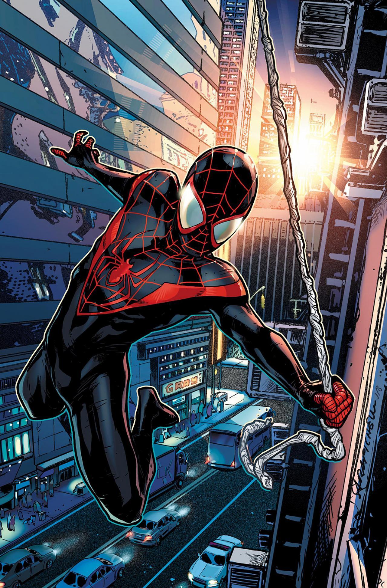 Ultimate Spiderman Black Suit Ultimate Black Suit Sp...