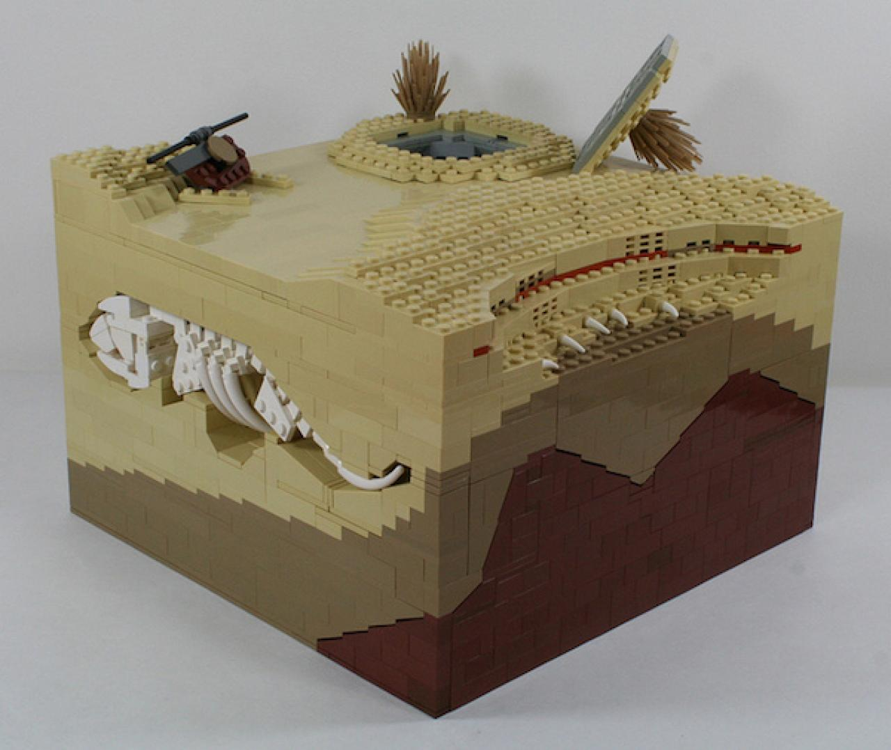 This Superb Lego Diorama Shows How Boba Fett Fled The