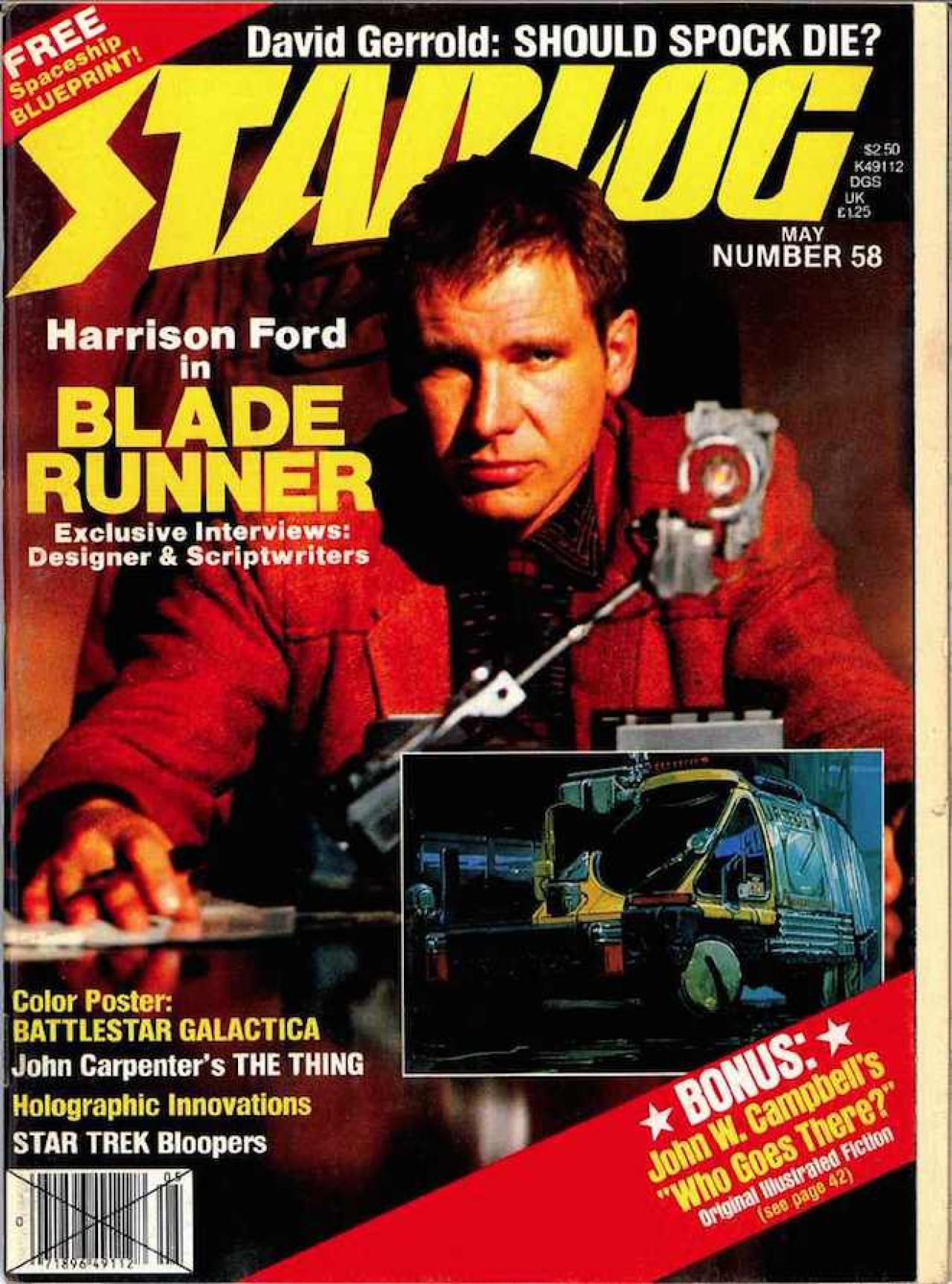 Starlog Magazine #24: 1979 Superman/Star Wars/Trek/Mork and Mindy/Alien/Galactica/