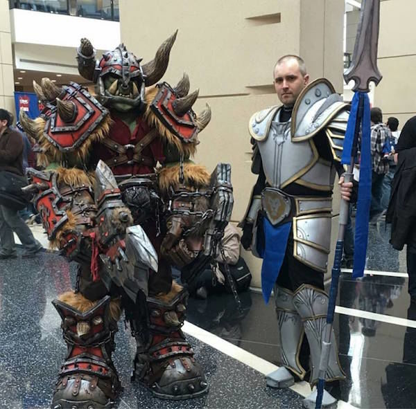 Cosplay we Love: Wicked-cool World of Warcraft Orc | SyfyWire