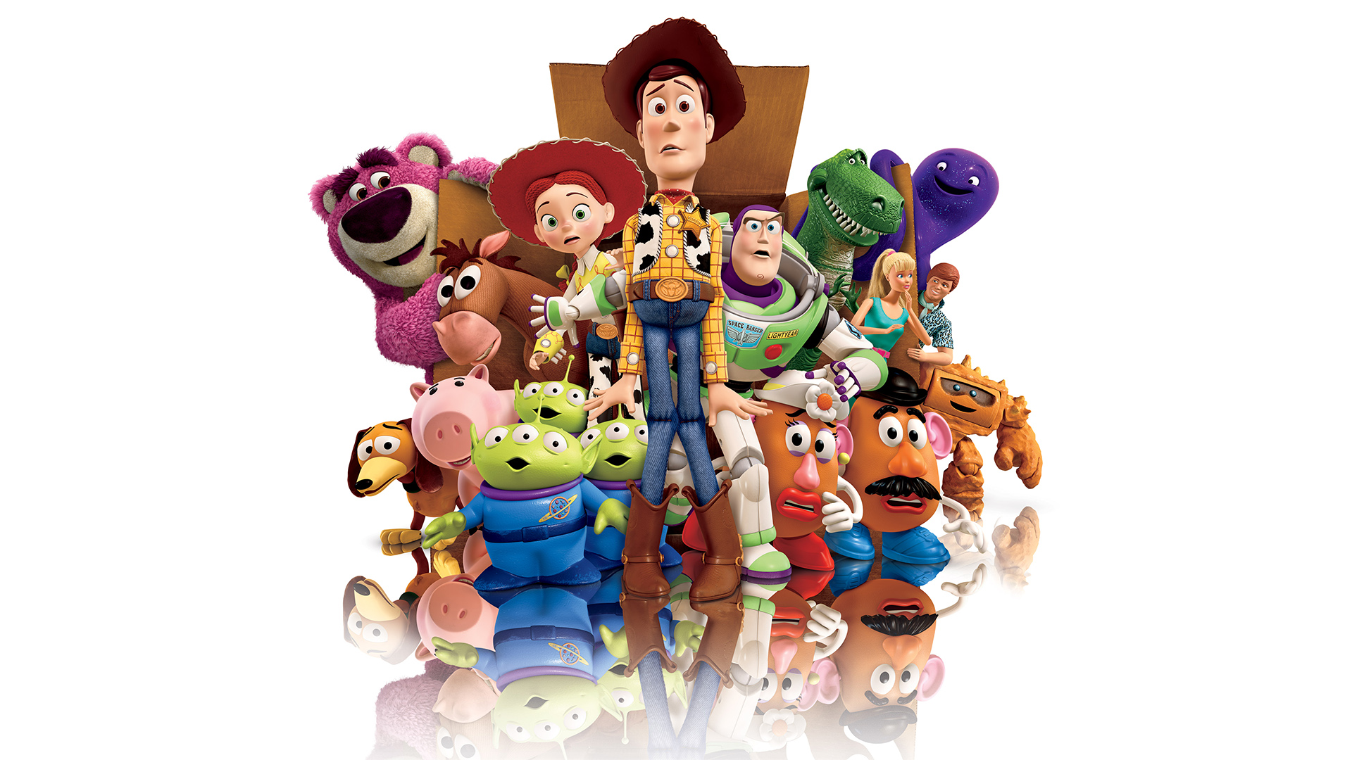 Infinity And Beyond Wallpaper Woody And Buzz