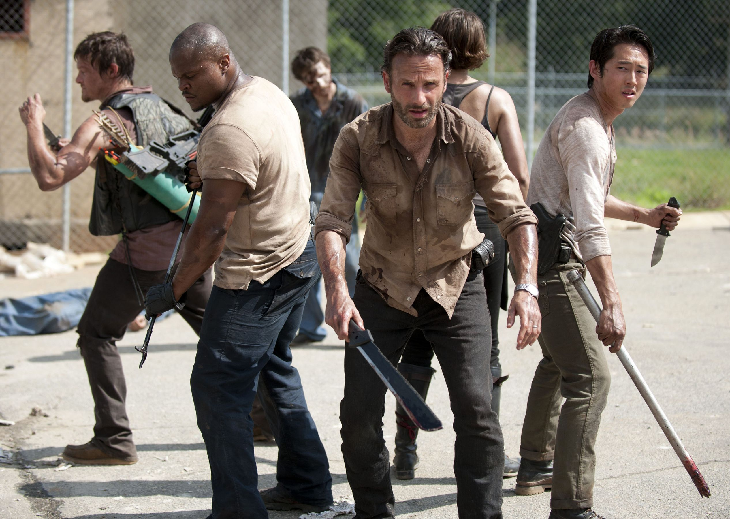 New Walking Dead set pics hint somebody might be losing a ...