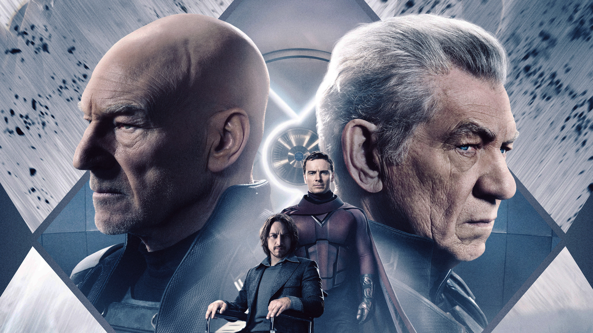 Image result for professor x and magneto